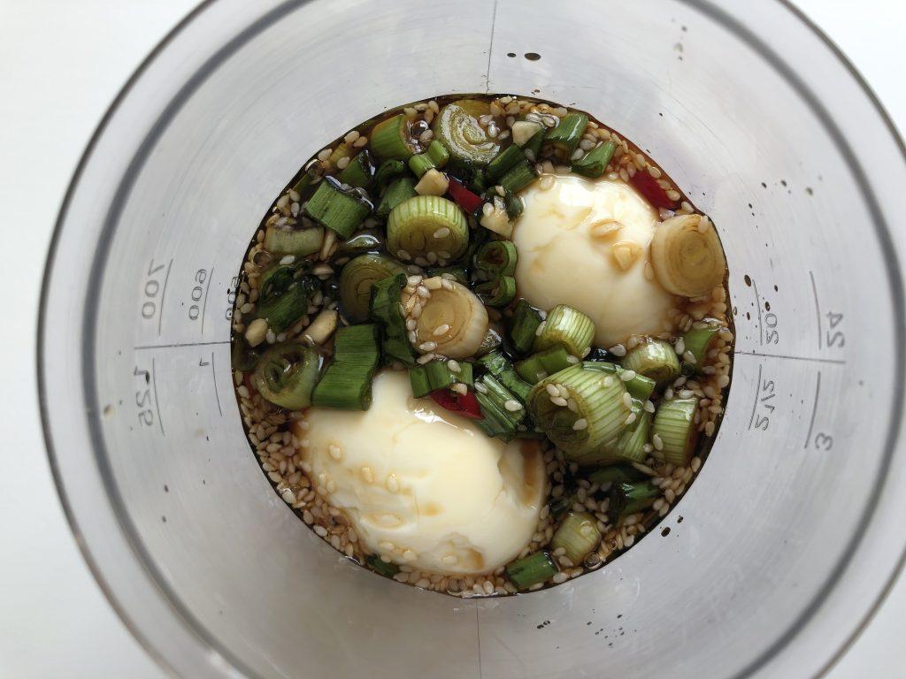 sojapicklat ägg